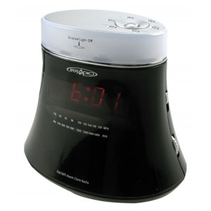IRRADIO - Radiosveglia elettronica AM/FM con wake-up light RE300ZEN