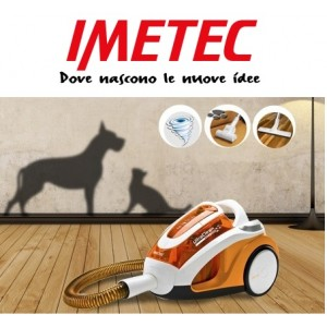 Aspirapolvere senza sacco Imetec Ultraclean Cat & Dog