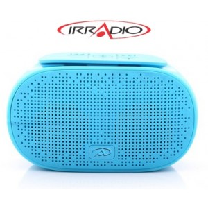 Irradio 166000120 B-Sound Diffusore Amplificato con Riproduttore MP3 Integrato, Bluetooth