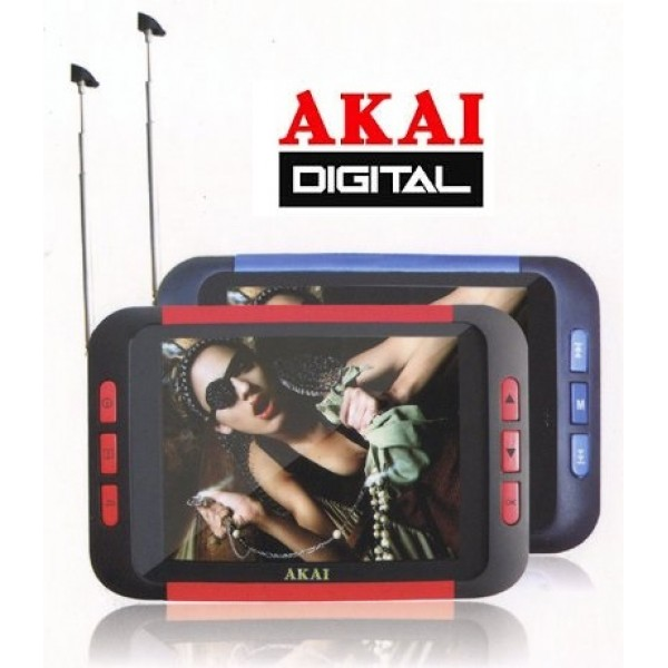 Mini Tv Akai portatile schermo 3.5""