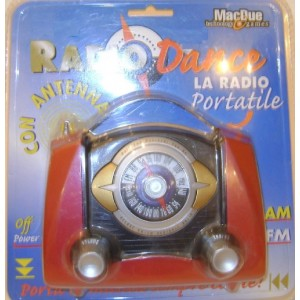 Radio Dance Am/Fm MACDUE AQ-1950