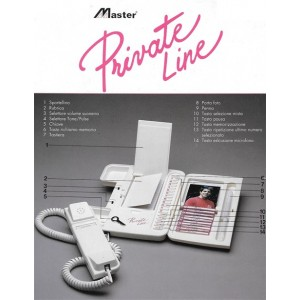 Telefono Fisso Private Line by Master
